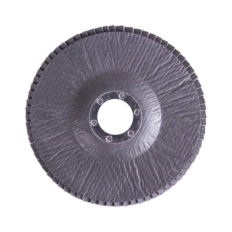Круг лепестковый торцевой Дніпро-М Р80, 5 шт/уп фото №3