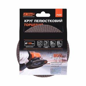 Круг лепестковый торцевой Дніпро-М Р100, 1 шт/уп