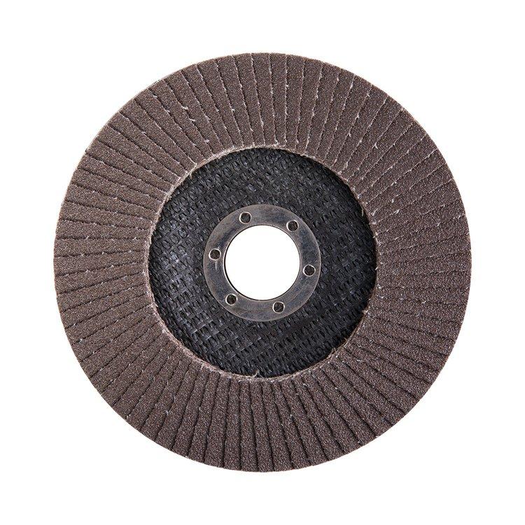 Круг лепестковый торцевой Дніпро-М Р100, 1 шт/уп фото №3