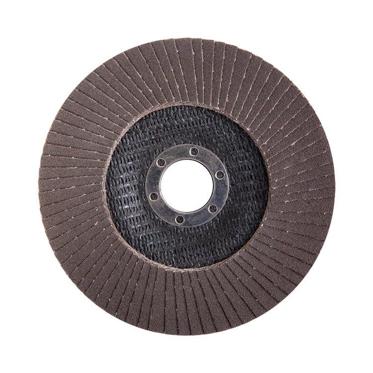 Круг лепестковый торцевой Дніпро-М Р120, 1 шт/уп фото №3