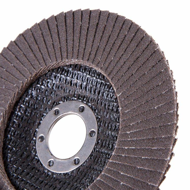 Круг лепестковый торцевой Дніпро-М Р120, 1 шт/уп фото №4