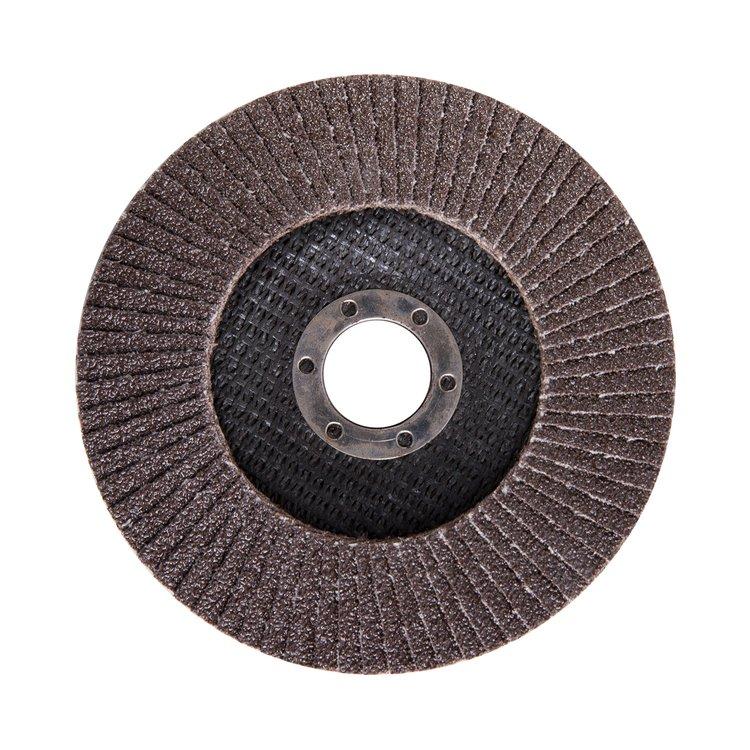 Круг лепестковый торцевой Дніпро-М Р60, 1 шт/уп фото №3