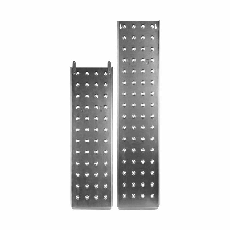 Лестница алюминиевая трансформер Dnipro-M MP-44Р 4,7 м + Нож сегментный Ultra 18 мм фото №7