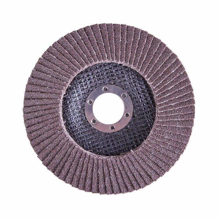Круг лепестковый торцевой Дніпро-М Р80, 1 шт/уп фото №2