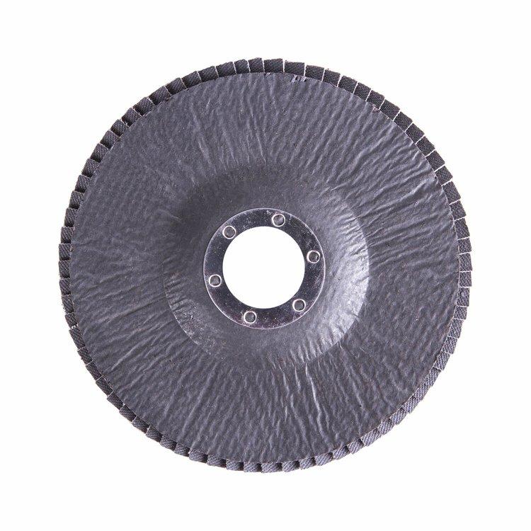Круг лепестковый торцевой Дніпро-М Р80, 1 шт/уп фото №3