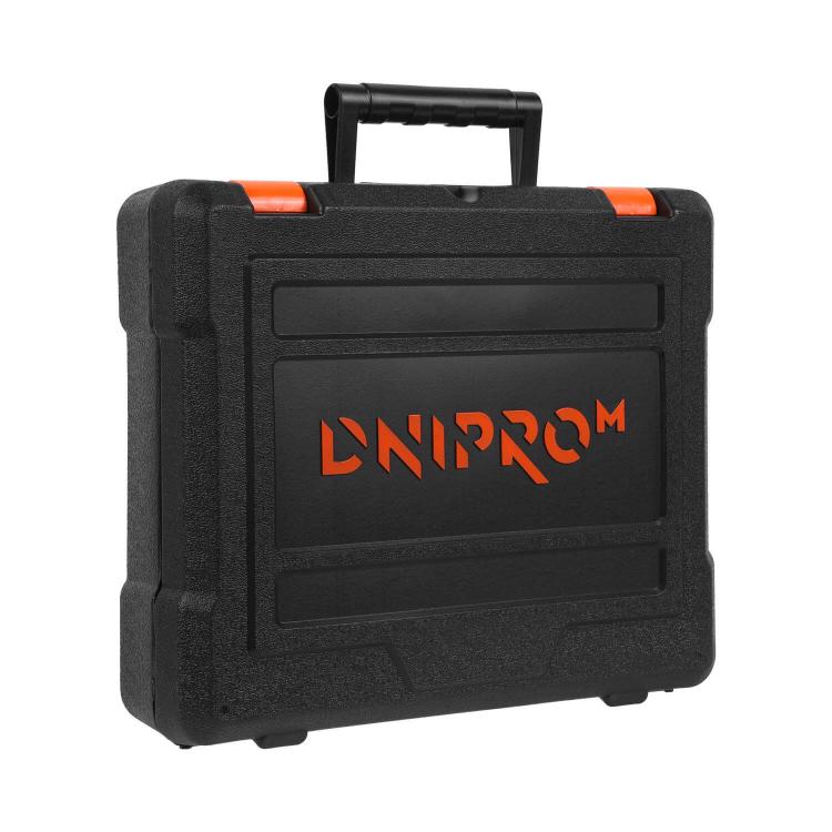 Аккумуляторная дрель-шуруповёрт Dnipro-M CD-182 + Набор насадок (43 шт.) фото №9
