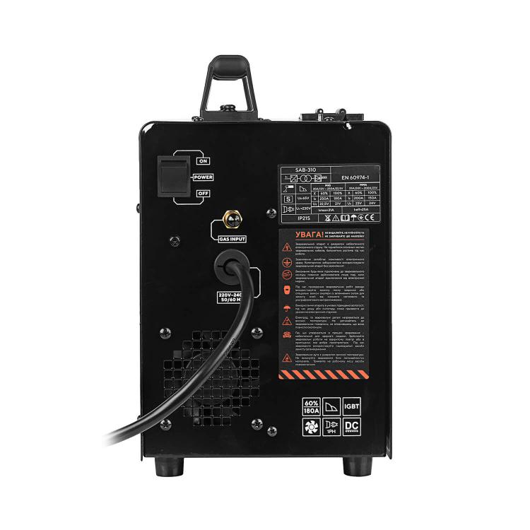 Полуавтомат инверторный IGBT MIG/MMA Dnipro-M SAB-310 + Шлифмашина угловая GS-98 фото №13