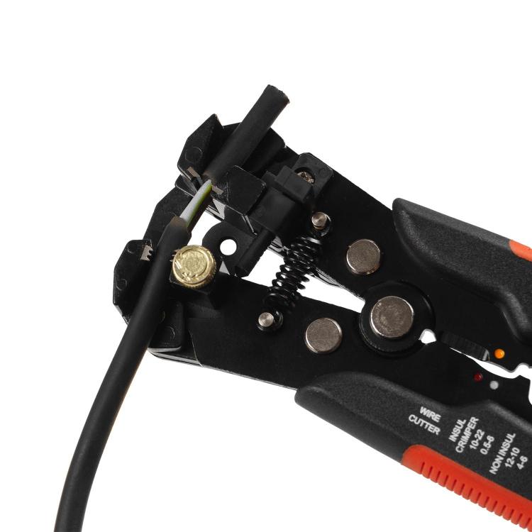 Автоматический съемник изоляции Dnipro-M WS-205 205 мм фото №5