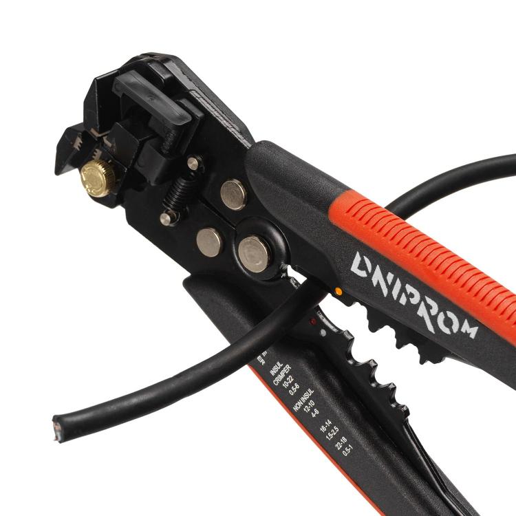 Автоматический съемник изоляции Dnipro-M WS-205 205 мм фото №6