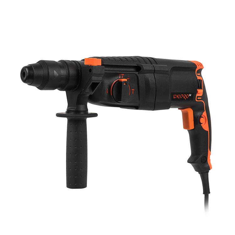 Перфоратор прямой Dnipro-M RH-98 Q + Перчатки для электроинструмента Comfort ХL фото №2
