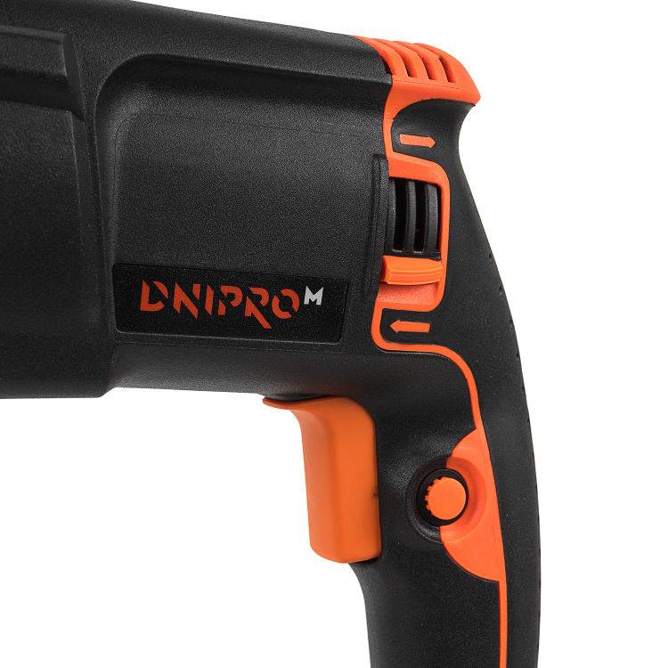 Перфоратор прямой Dnipro-M RH-98 Q + Перчатки для электроинструмента Comfort ХL фото №4