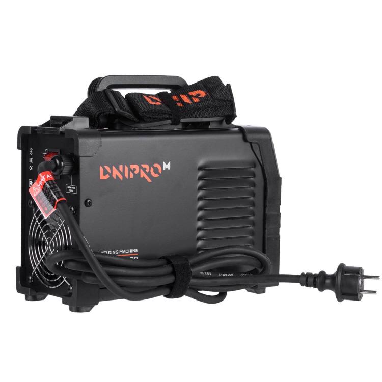 Сварочный аппарат IGBT Dnipro-M SAB-260DPB + Краги + Магнитный угольник фото №3