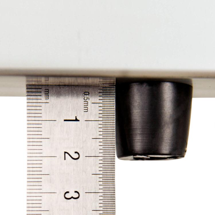 Лестница алюминиевая телескопическая Dnipro-M TL132 3.2 м + 3 валика фото №3