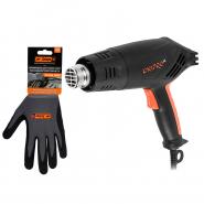 Фен промышленный Dnipro-M GH-200 + Перчатки Ultra Grip