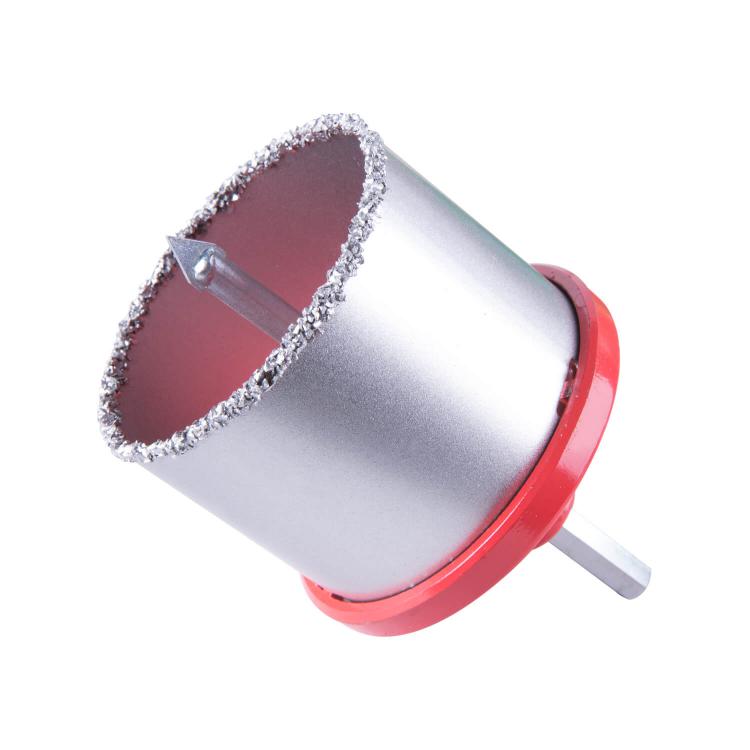 Набор вольфрамовых коронок Dnipro-M (33,53,67,73,83 мм) по плитке, бетону, кирпичу, 5 шт фото №3