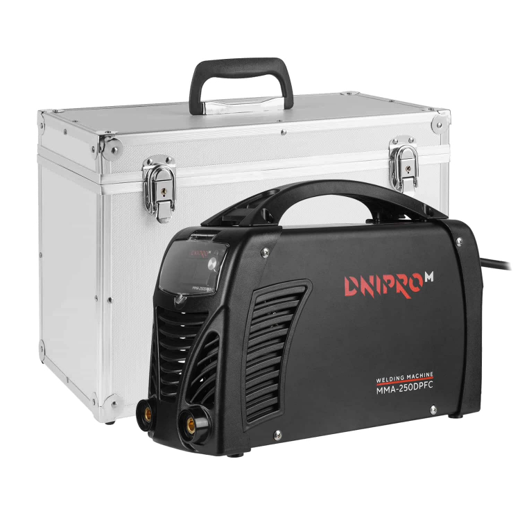 Сварочный аппарат IGBT Dnipro-M MMA-250DPFC + Маска сварщика WM-46 фото №2