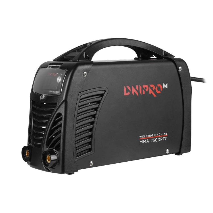 Сварочный аппарат IGBT Dnipro-M MMA-250DPFC + Маска сварщика WM-46 фото №3