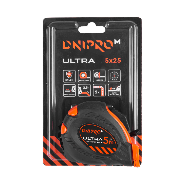 Аккумуляторная дрель-шуруповёрт Dnipro-M CD-182 + Рулетка Ultra 5 м*25 мм фото №9