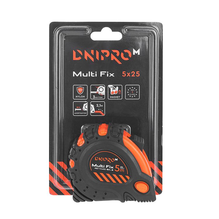 Аккумуляторная дрель-шуруповёрт Dnipro-M CD-122Q + Рулетка Multi Fix 5 м*25 мм фото №11