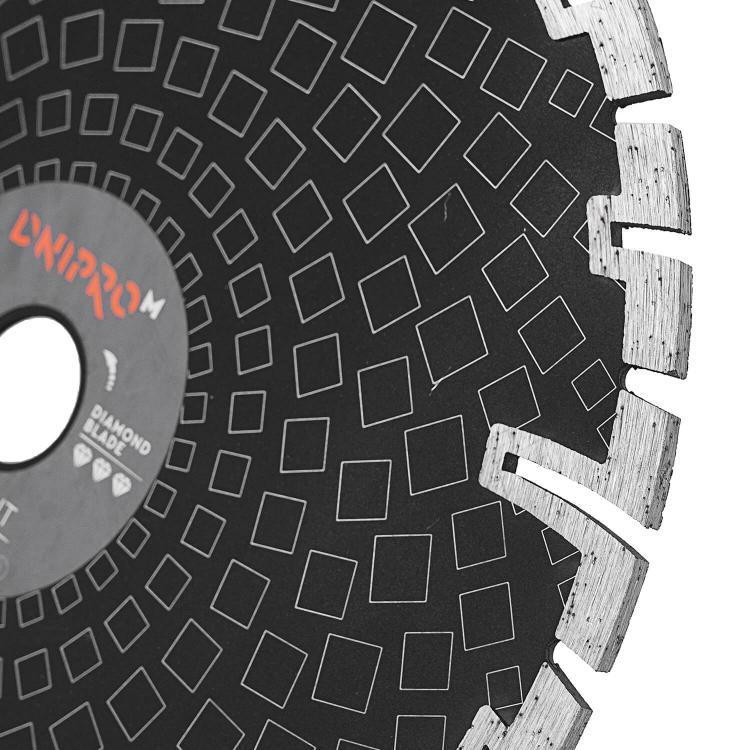 Шлифмашина угловая Dnipro-M GL-270 + Алмазный диск 230 22.2 Deep Cut фото №10