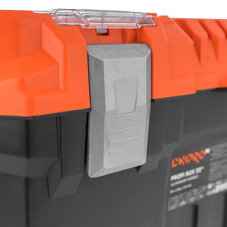 """Ящик для инструмента Dnipro-M Profi Box 22"""" фото №7"""