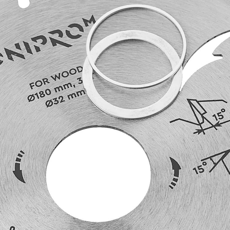 Пильний диск Dnipro-M 180 мм 32 30 25,4 30Т фото №5
