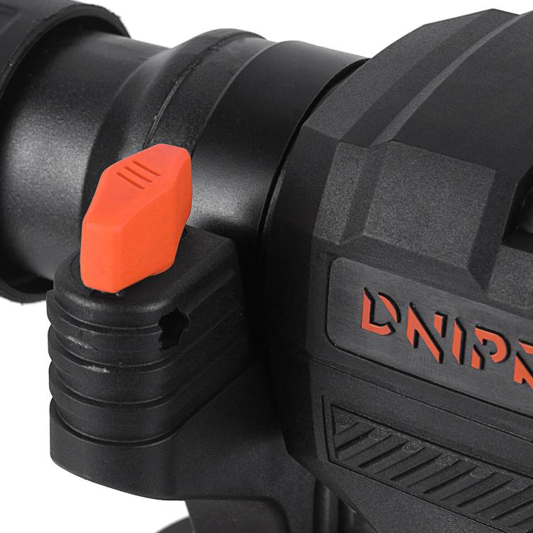 Перфоратор бочковий Dnipro-M BH-174 + Набір бурів + Рулетка фото №5