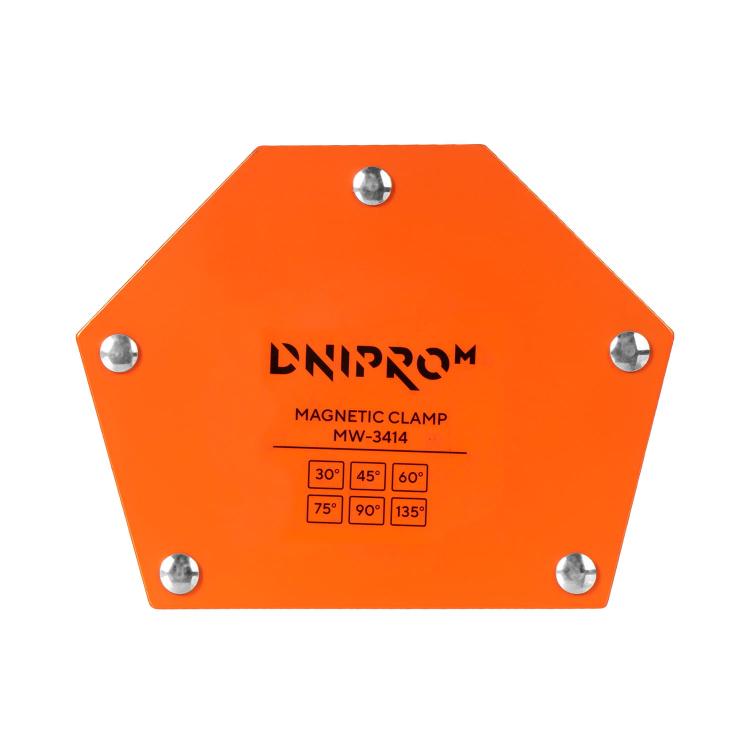 Зварювальний апарат IGBT Dnipro-M SAB-258N + Маска зварника WM-39 + Магнітний кутник MW-3414 + Електроди фото №13