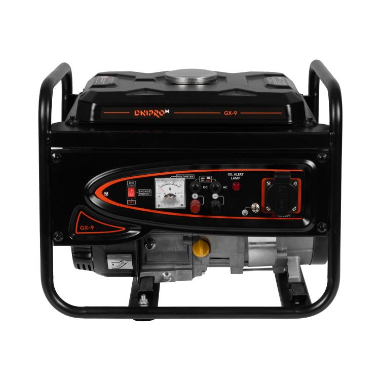 Генератор бензиновий Dnipro-M GX-9 + Стабілізатор релейного типу VR-80R фото №2
