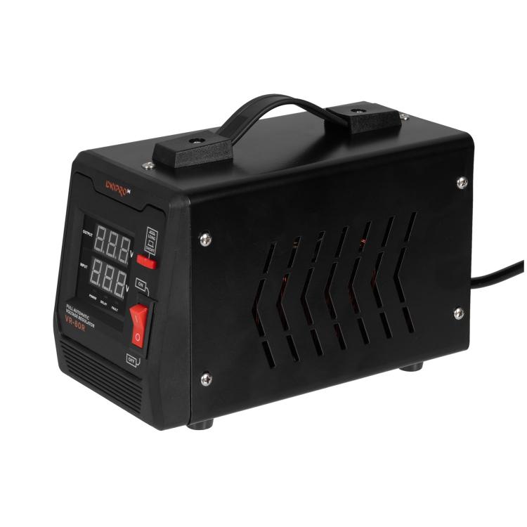 Генератор бензиновий Dnipro-M GX-9 + Стабілізатор релейного типу VR-80R фото №8