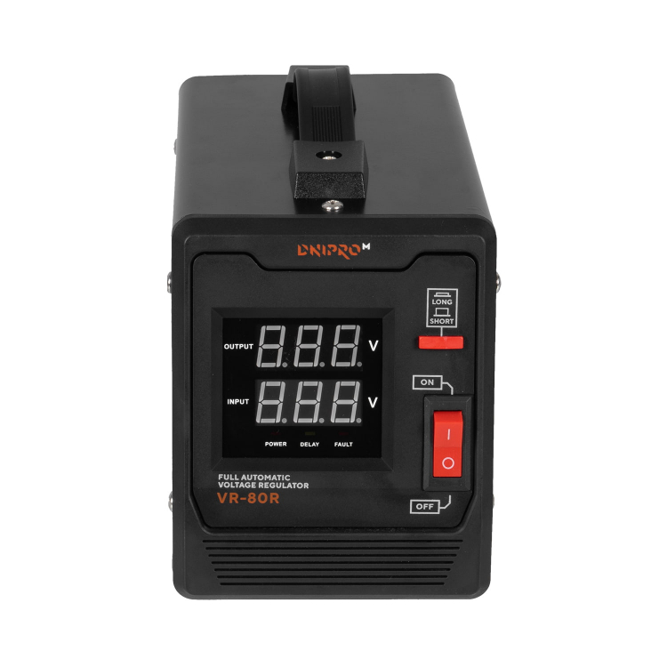 Генератор бензиновий Dnipro-M GX-9 + Стабілізатор релейного типу VR-80R фото №10