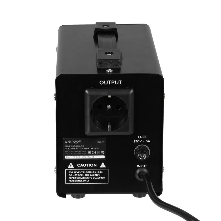Генератор бензиновий Dnipro-M GX-9 + Стабілізатор релейного типу VR-80R фото №11
