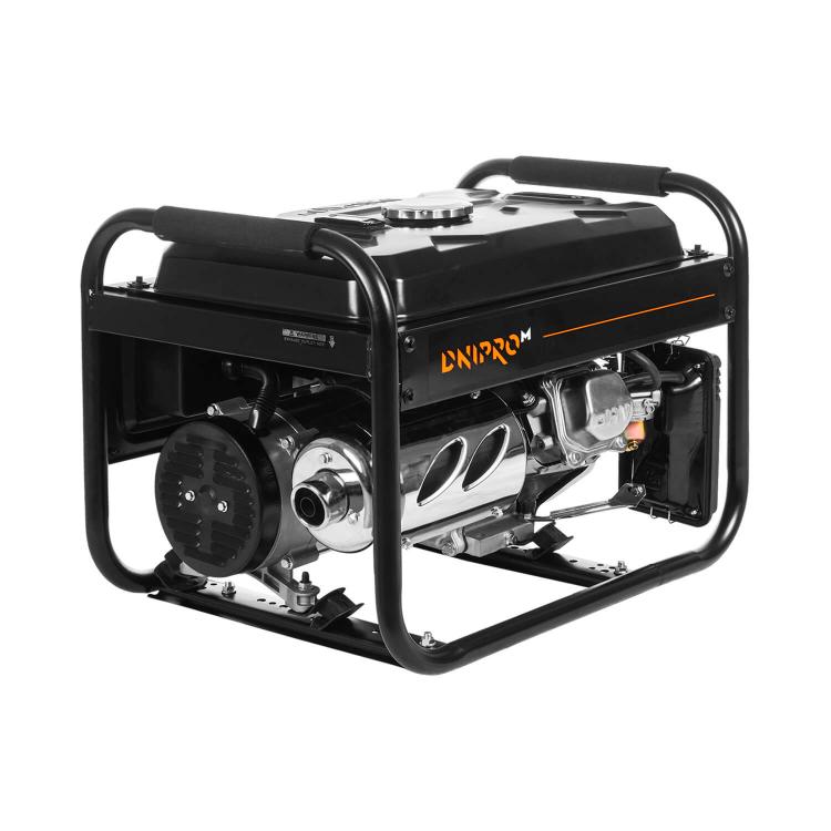 Генератор бензиновый Dnipro-M GX-25 + Шлифмашина угловая GL-145S + Перфоратор прямой RH-100Q фото №3