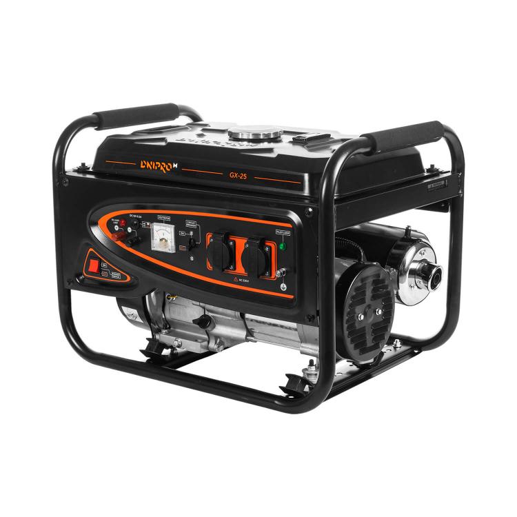 Генератор бензиновый Dnipro-M GX-25 + Шлифмашина угловая GL-145S + Перфоратор прямой RH-100Q фото №5