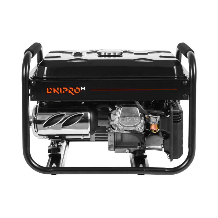Генератор бензиновый Dnipro-M GX-25 + Шлифмашина угловая GL-145S + Перфоратор прямой RH-100Q фото №6