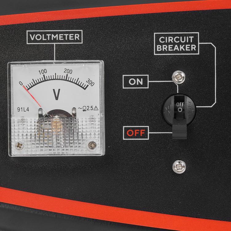 Генератор бензиновый Dnipro-M GX-30E + Перфоратор бочковой BH-174 + Шлифмашина угловая GL-190S фото №7