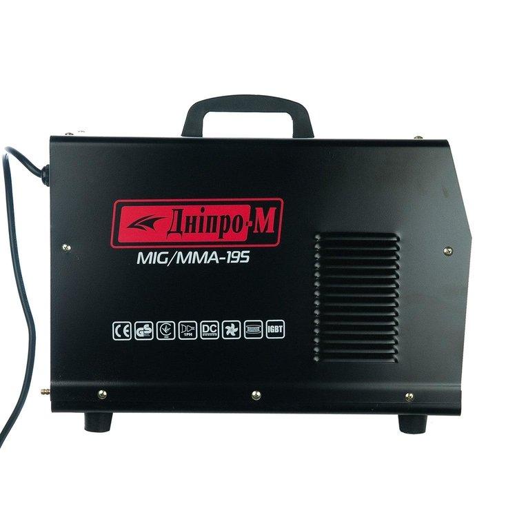 Полуавтомат инверторный IGBT MIG/MMA Дніпро-М 195 (2in1, IGBT) фото №3