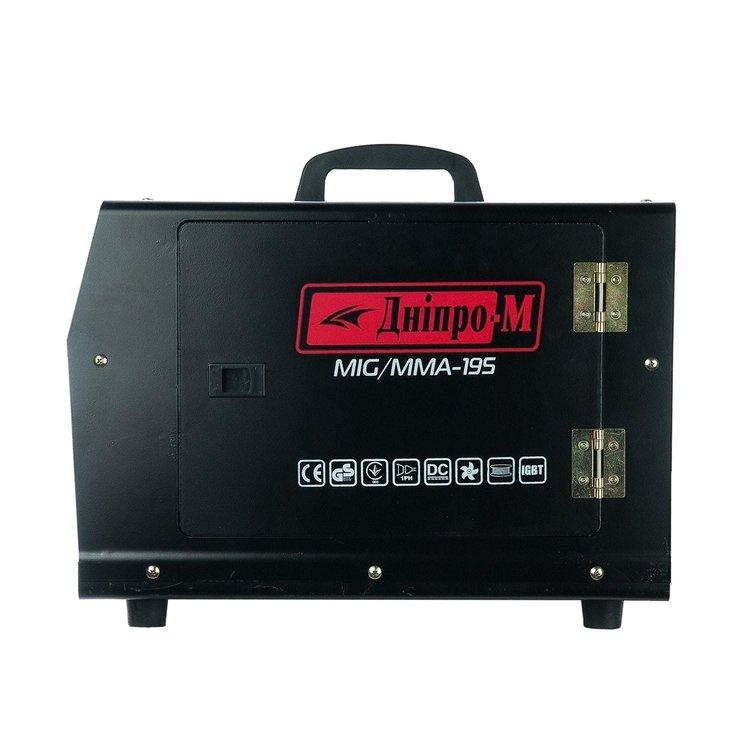Полуавтомат инверторный IGBT MIG/MMA Дніпро-М 195 (2in1, IGBT) фото №4