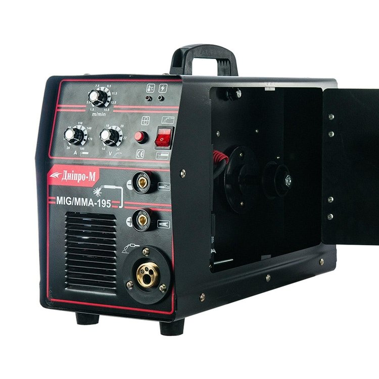 Полуавтомат инверторный IGBT MIG/MMA Дніпро-М 195 (2in1, IGBT) фото №8