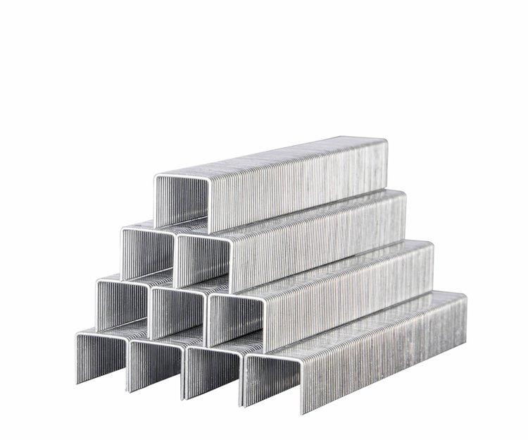 Скобы усиленные для строительного степлера Дніпро-М 11,3*0,7*10 мм фото №2