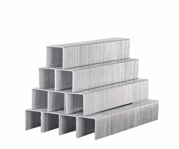 Скобы усиленные для строительного степлера Дніпро-М 11,3*0,7*12 мм фото №2