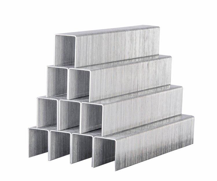 Скобы усиленные для строительного степлера Дніпро-М 11,3*0,7*14 мм фото №2