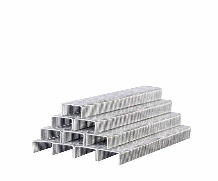 Скобы усиленные для строительного степлера Дніпро-М 11,3*0,7*6 мм фото №2