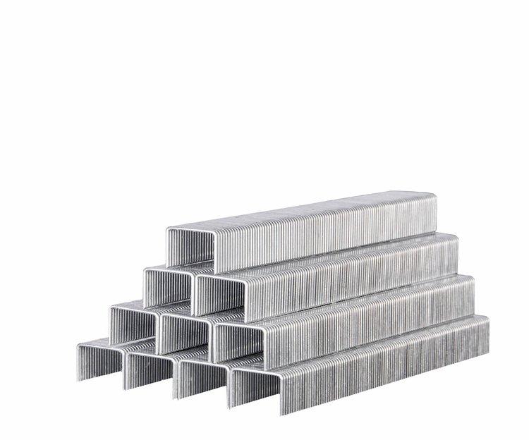 Скобы усиленные для строительного степлера Дніпро-М 11,3*0,7*8 мм фото №2