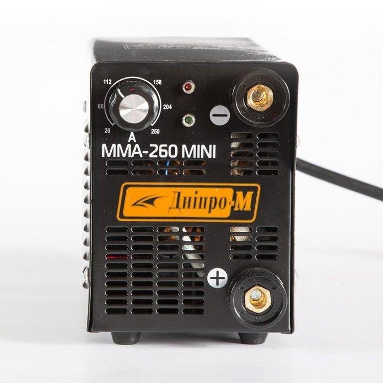 Инвертор MМА MINI 260 + Маска Сварщика МЗП-485 фото №2