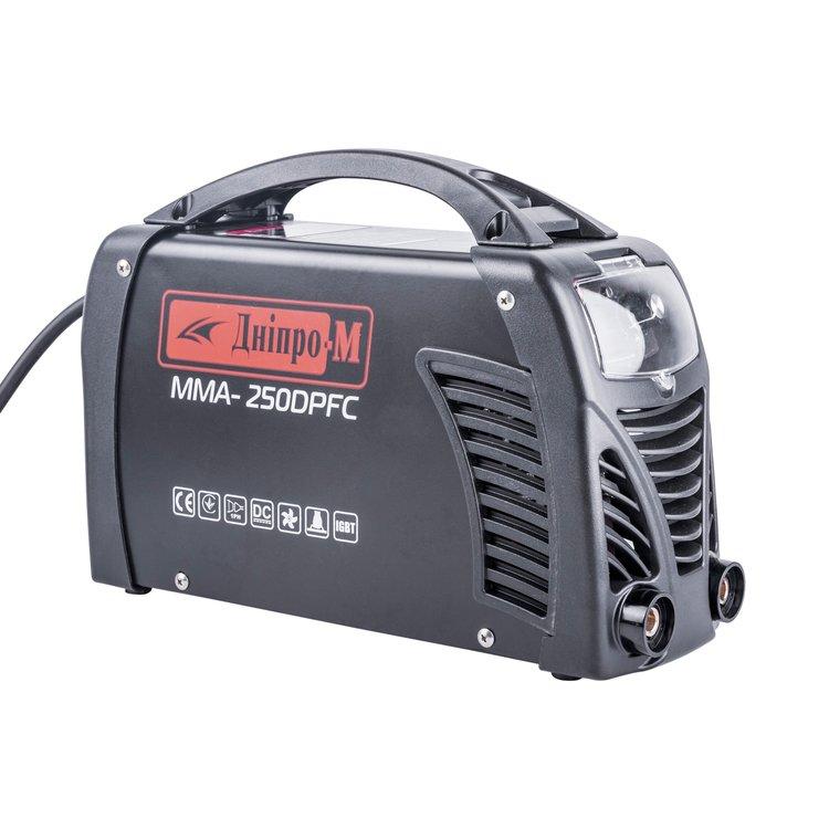 Сварочный аппарат IGBT Дніпро-М MMA-250 DPFC фото №5