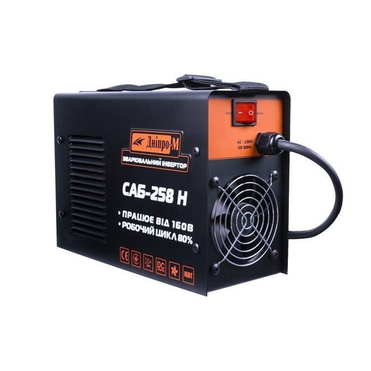 Сварочный инвертор САБ-258Н + Электроды 3мм/1кг + Краги фото №2