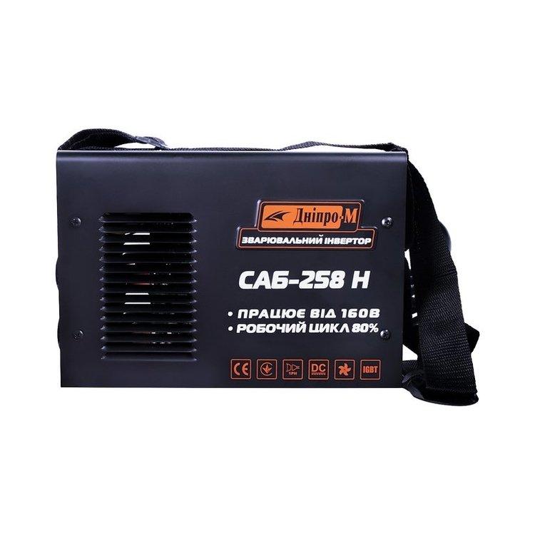 Сварочный инвертор САБ-258Н + Электроды 3мм/1кг + Краги фото №3