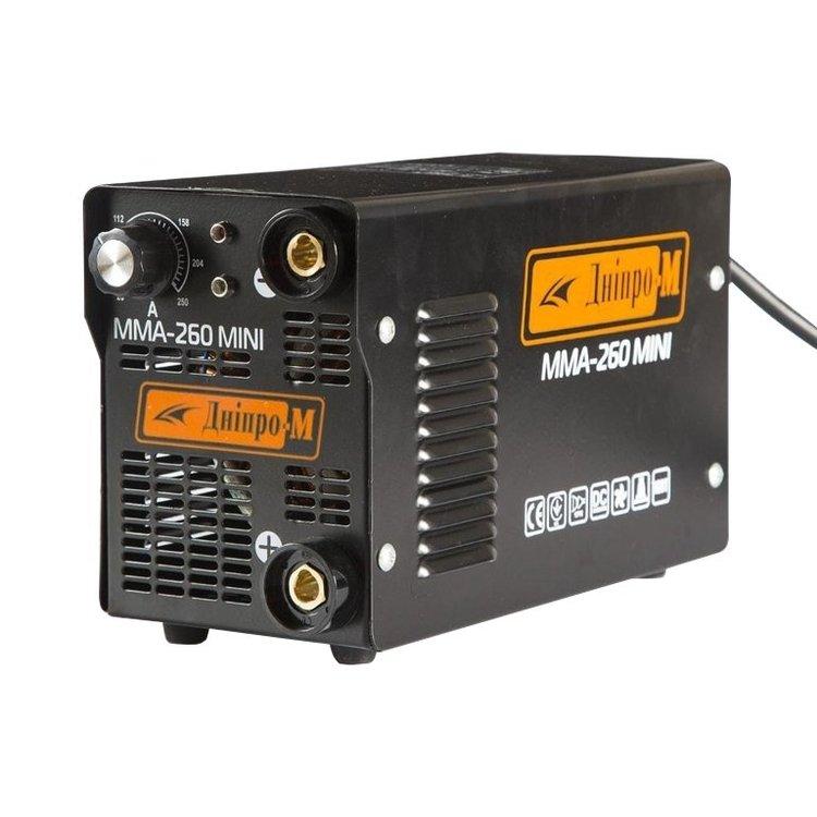Сварочный инвертор Дніпро-М ММА-260 Mini + Маска + Магнитный угольник фото №2