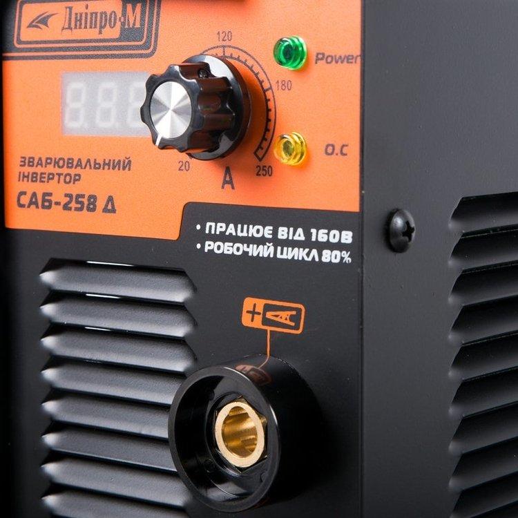 Сварочный аппарат Дніпро-М САБ-258Д + Маска фото №5
